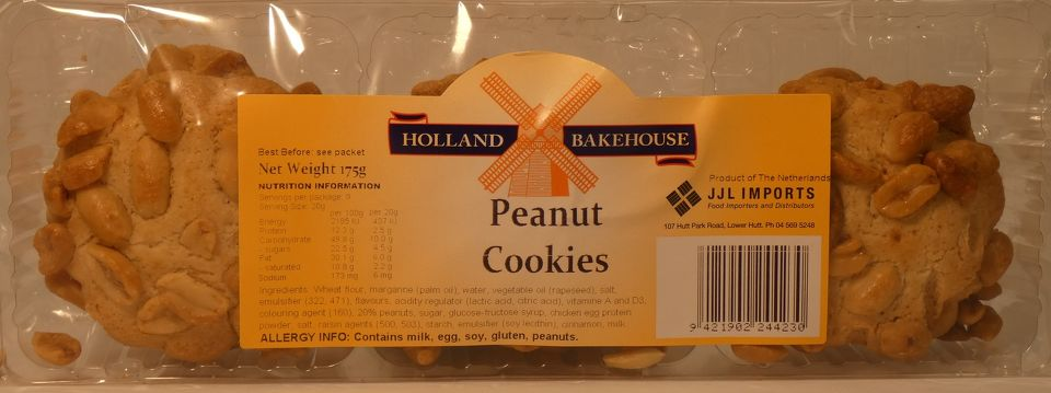 Peanut Biscuits Holland Bakehouse
