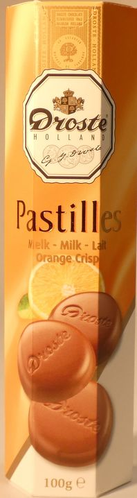 Pastilles Orange Droste