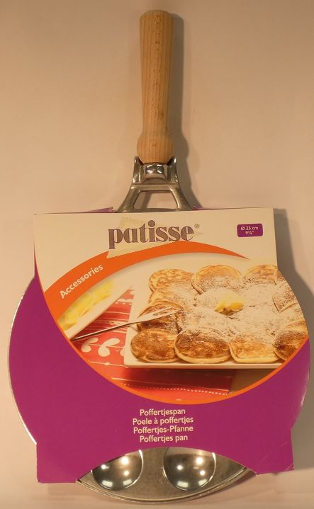 Poffertjes Pan (Cast Aluminium Handle) Patisse
