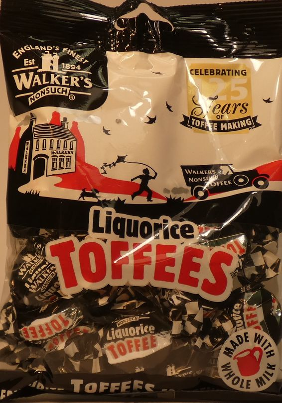 Licorice Toffees Walkers