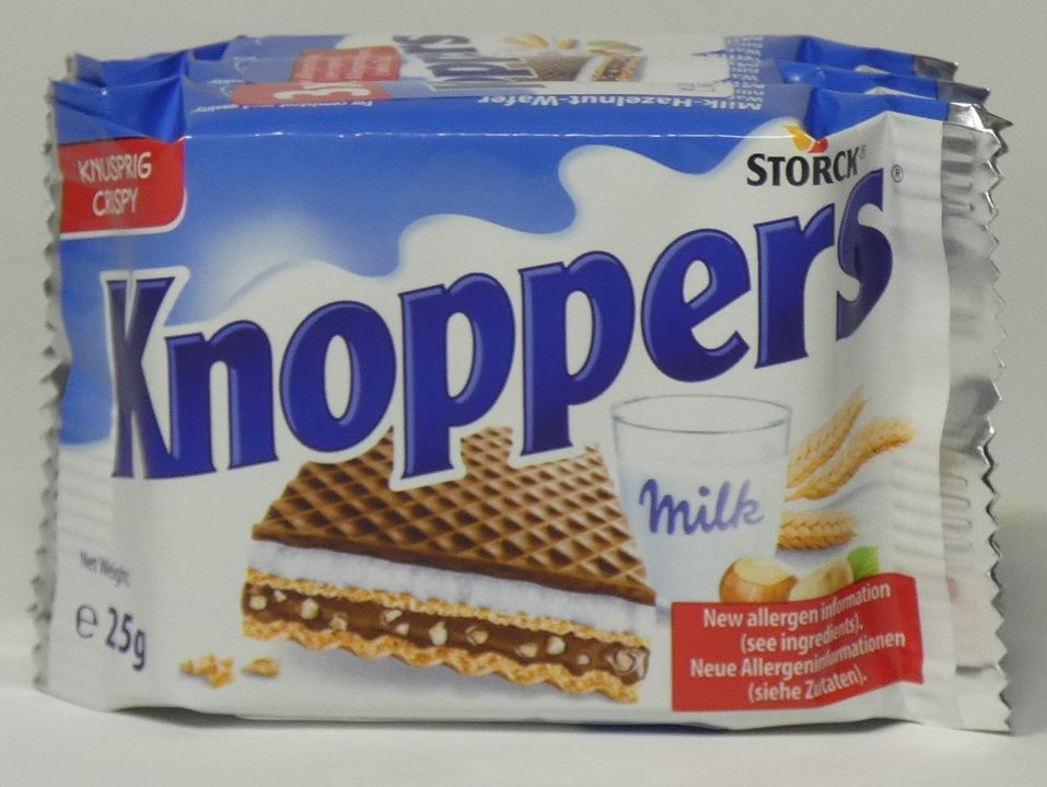 Knoppers - 3 pack
