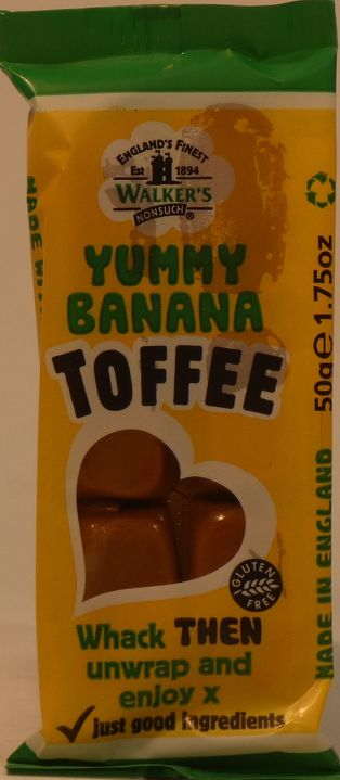 Toffee Bar Yummy Banana