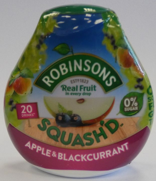 Squashed Apple & Blackcurrant - Robinsons
